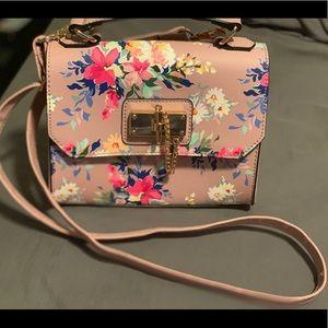 Aldo crossbody floral bag
